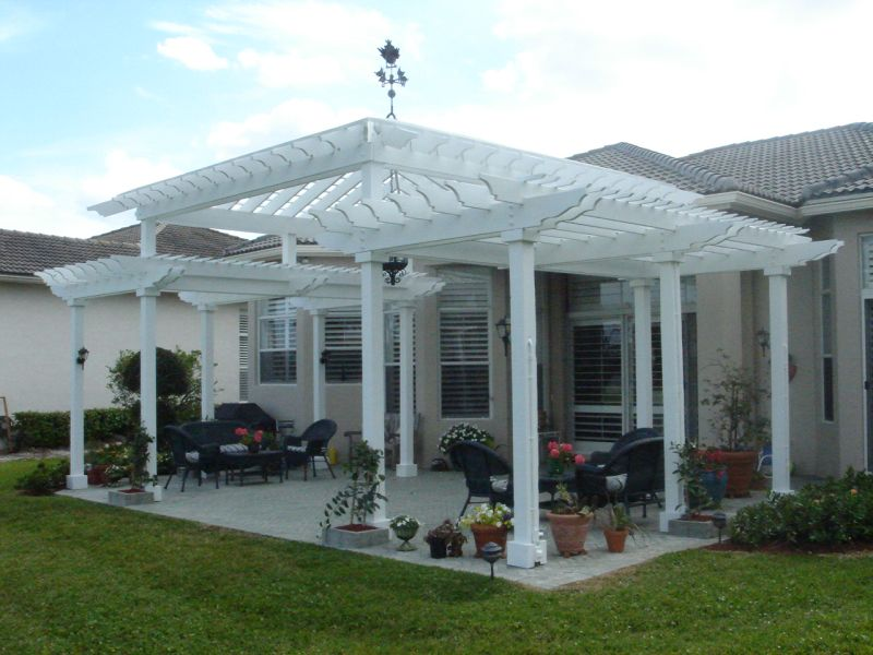 FLorida Pergola - Services - Mouldings - Ceiling Tiles - Columns - Decks - Pergolas - Gazebos