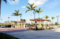 Pergola Entrance-Delray Publix Shopping Center