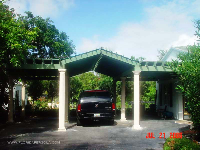 Pergola Carport Built in 2006