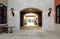 Pergola in Publix Shopping Center-Delray