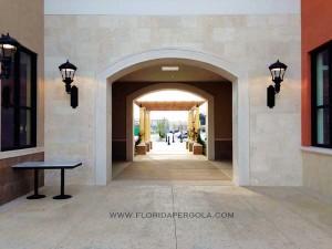 Pergola in Publix Shopping Center-Delray